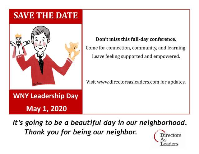WNY Leadership Day 2020_save the date